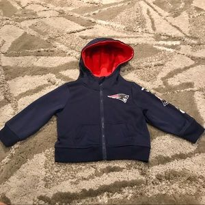 NFL - New England Patriots Toddler Zip Hoodie- 12M